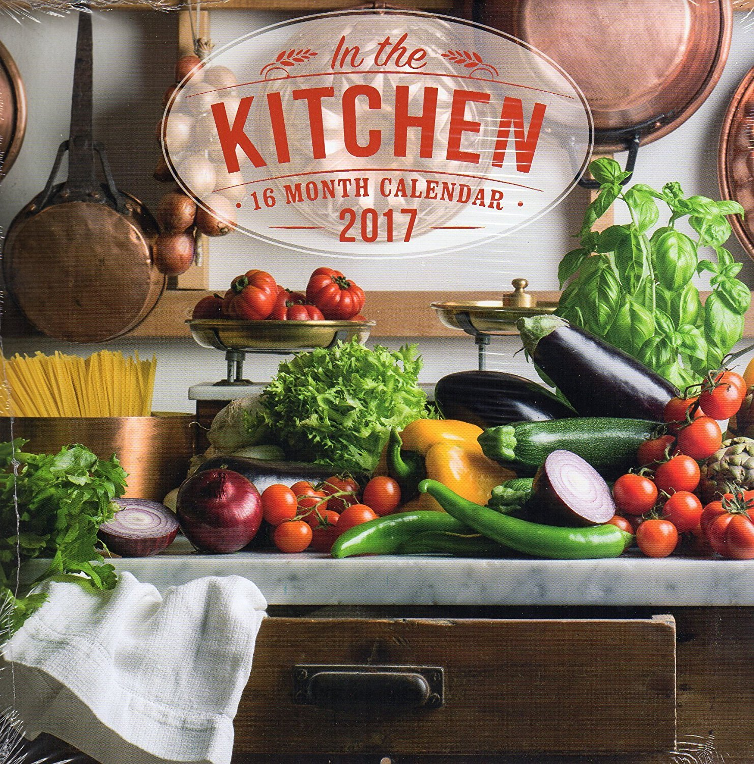 In the Kitchen - 16 Month Wall Calendars 2017