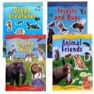 Animal Sticker Activity Book Set