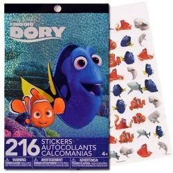 Disney PIXAR Finding Dory Nemo 4 Sticker Sheets - 216 Stickers