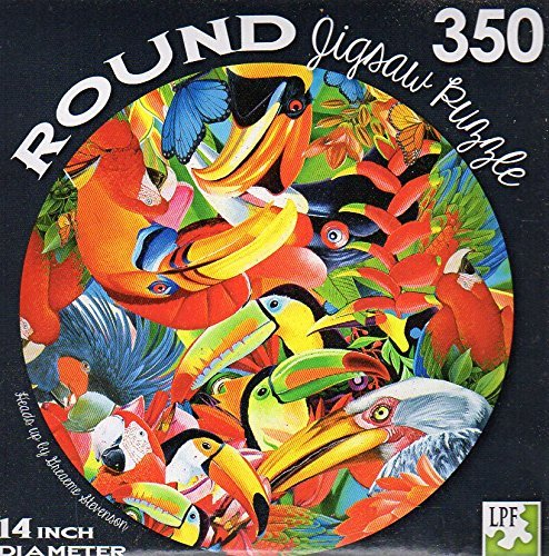 Heands Up - 350 Piece Round Jigsaw Puzzle