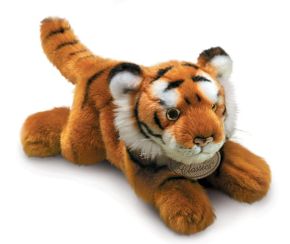 """Russ Berrie Yomiko Brown Tiger 12"""""""