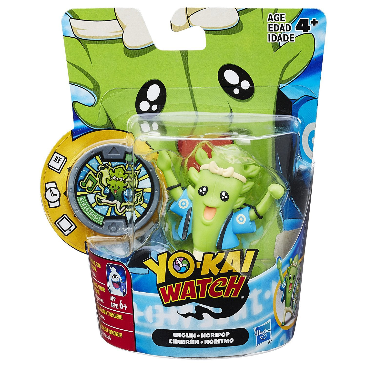 Yo-kai Watch Medal Moments Wiglin
