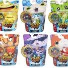 Set of 6: Yo-Kai Watch Medal Moments - Happierre, Wiglin, Blazion, Baddinyan, Komasan, Jibanyan