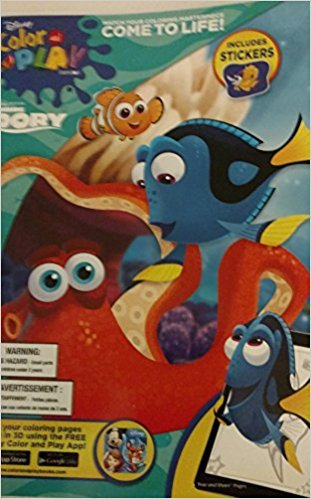 Disney Dory Color & Play (Includes stickers)