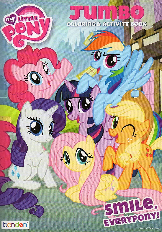 My Little Pony - Smile, Every Pony! - Jumbo Coloring & Activity Book
