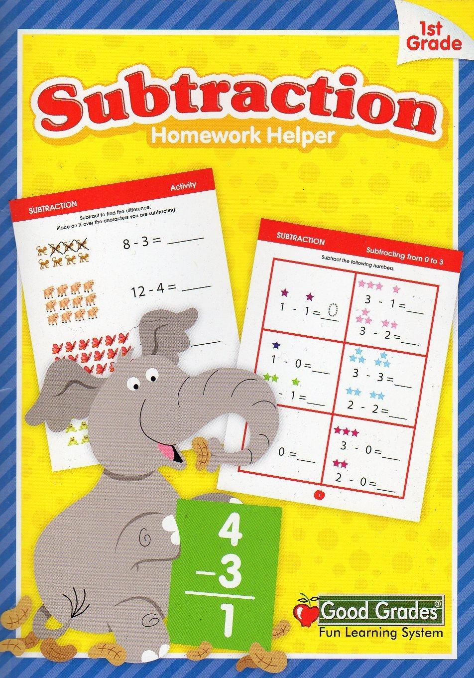 Good Grades Educational Workbook ~ Subtraction (Grade 1)
