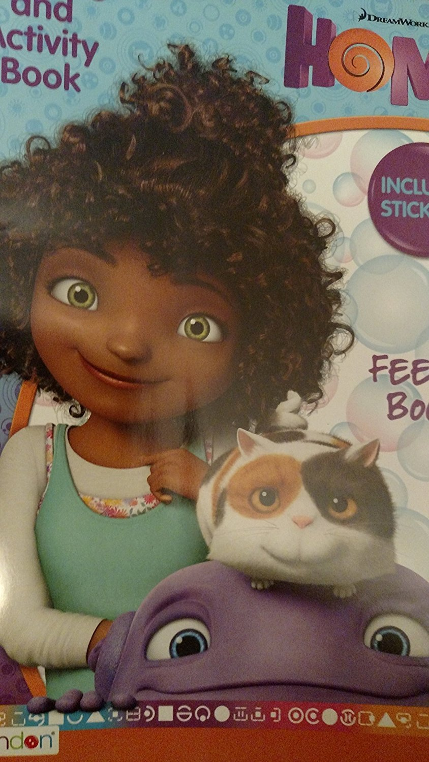 DreamWorks Feeling Boovy Coloring & Activity Book (Includes Stickers!)
