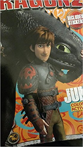 How to Train Your Dragon 2 Jumbo Coloring & Activity Book (Includes Stickers)