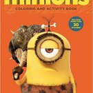 Minions Coloring & Activity Book (Includes More Than 30 Stickers)