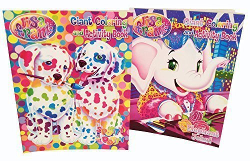 Lisa Frank Coloring and Activity Book - 2 Items