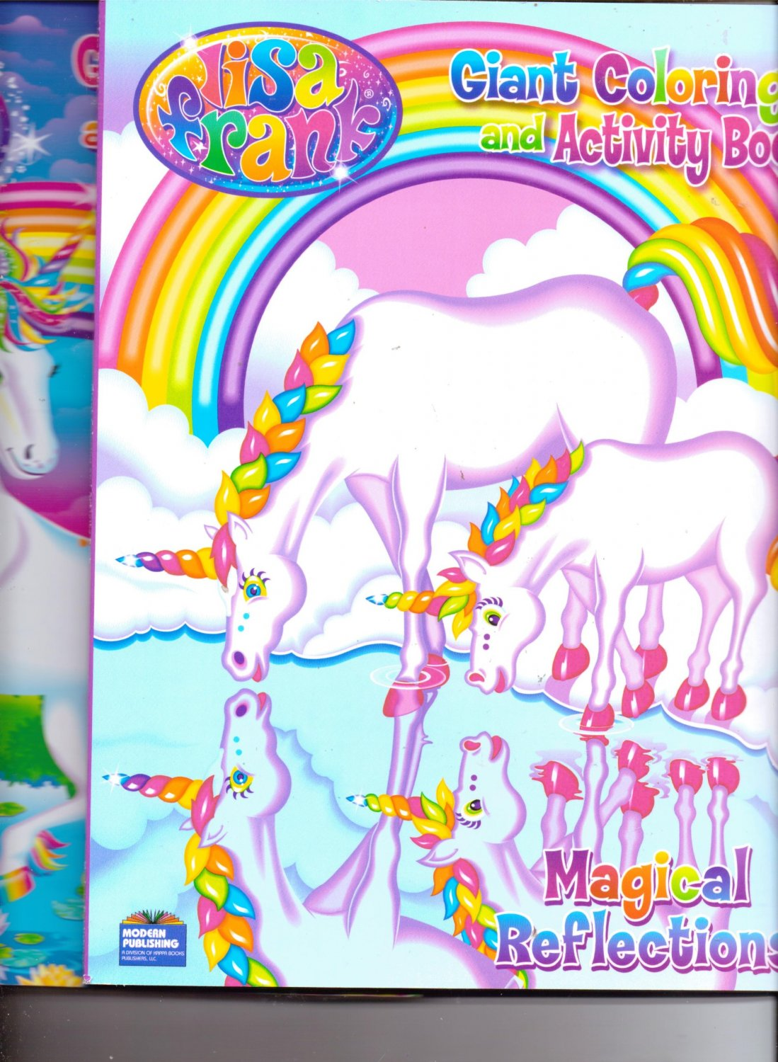 Lisa Frank Coloring Book 2-Pack ~ Horse Lovers