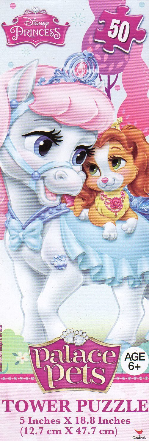 Disney Princess Palace Pets - 50 Piece Tower Jigsaw Puzzle - v2