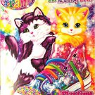 Lisa Frank Giant Coloring & Activity Book ~ Playtime Kittens