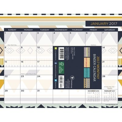 TF Publishing Prints and Patterns Binder Planner