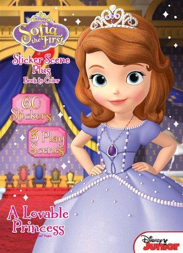 Disney Junior Sofia the First: A Lovable Princess Sticker Book