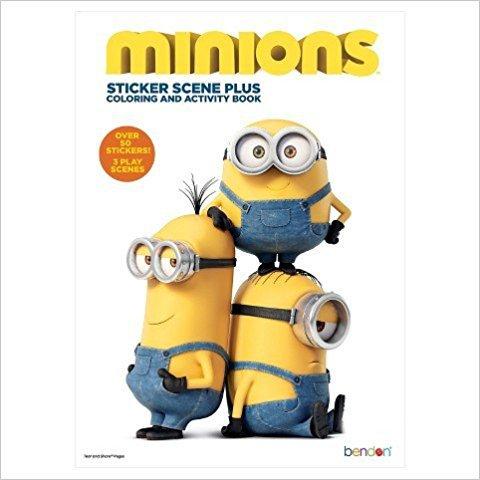 Minions Sticker Scene Activity Book