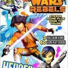 Star Wars Rebels Sticker Scene Plus Book to Color Heroes Activity Book