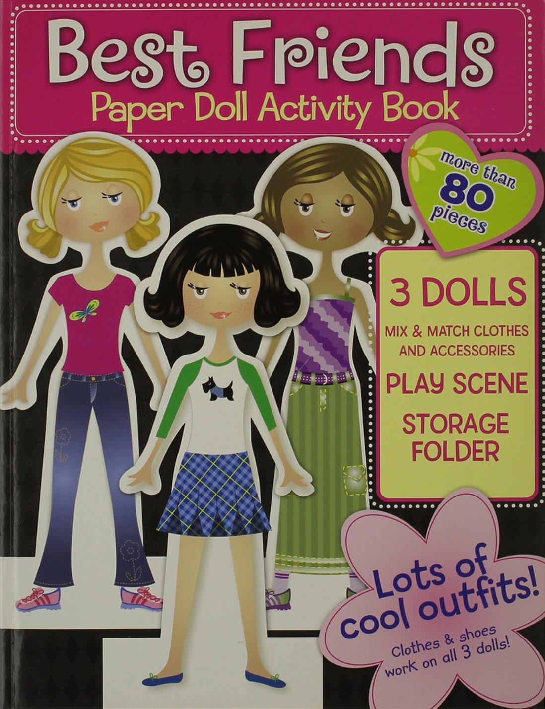 Best Friends Paper Doll Activity Book