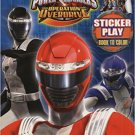 Kick Into Overdrive (Power Rangers Operation Overdrive)  Coloring & Activity Book