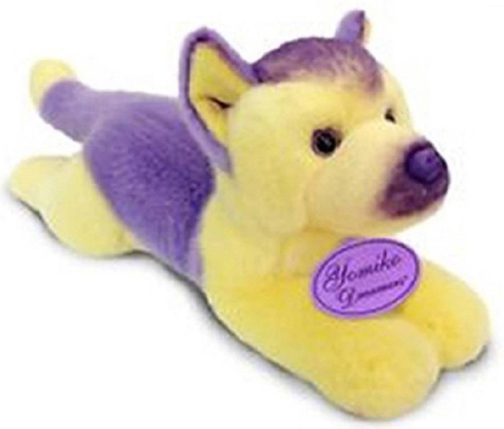 "Russ 12"" Yellow Plush German Shepherd Dog"