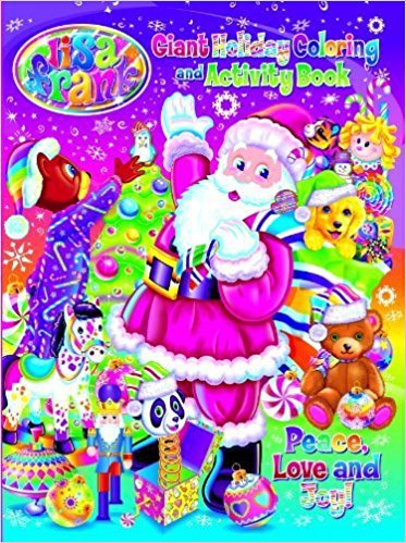 Lisa Frank Peace, Love, and Joy Holiday Giant Coloring and Activity Book by Modern Publishing
