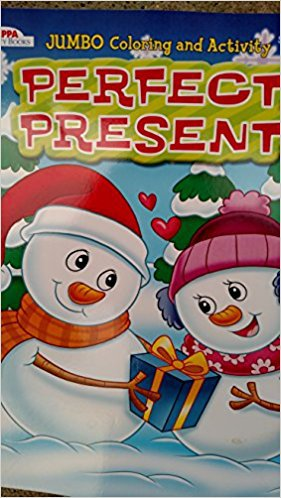 Perfect Present Jumbo Coloring & Activity Book