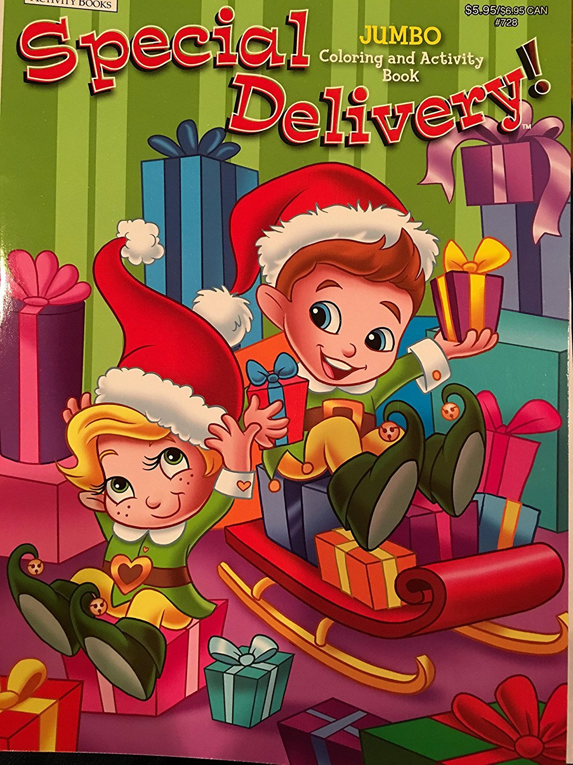 Special Delivery Jumbo Coloring and Activity Book