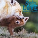 Animals Baby Love 2017 Wall Calendar (16 Months)