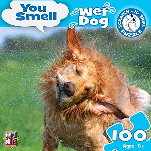 MasterPieces Puzzle Company You Smell You Smell Wet Dog Jigsaw Puzzle (100-Piece)