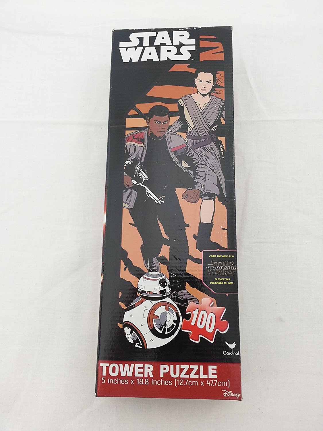 Star Wars 100 pc Tower Puzzle 12.7 cm X 47.7 cm
