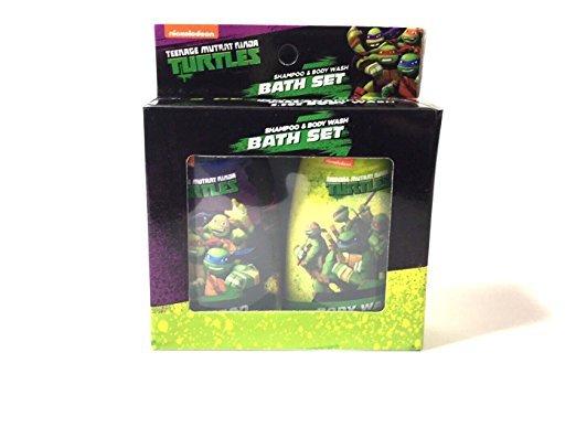 Teenage Mutant Ninja Turtles Shampoo and Bidy Wash Bath Set