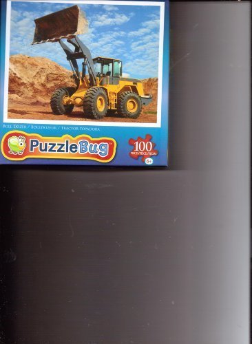 Puzzle Bug Jigsaw Puzzle Bulldozer At Work 100 pieces by Puzzlebug