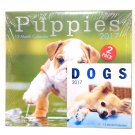 "2017 12"" x 12"" Calendar Puppies With Dogs Mini Calendar"