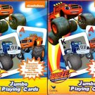 2 Pack Blaze and the Monster Machines Jumbo Playing Card Deck