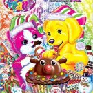 Lisa Frank Festive Friends Holiday Giant Coloring & Activity Book