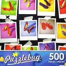 Shoe Organization - 500 Piece Jigsaw Puzzle Puzzlebug