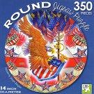 Patriots - 350 Piece Round Jigsaw Puzzle