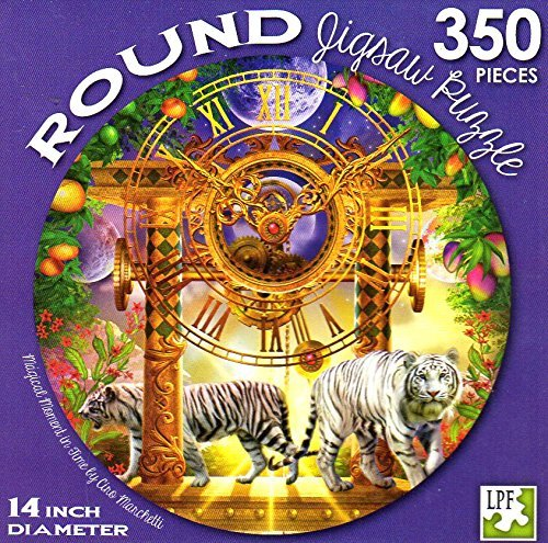 Magical Moment in Time - 350 Piece Round Jigsaw Puzzle