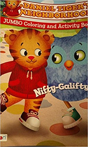 Daniel Tiger's Neighborhood Jumbo Coloring & Activity Book Nifty-Galifty