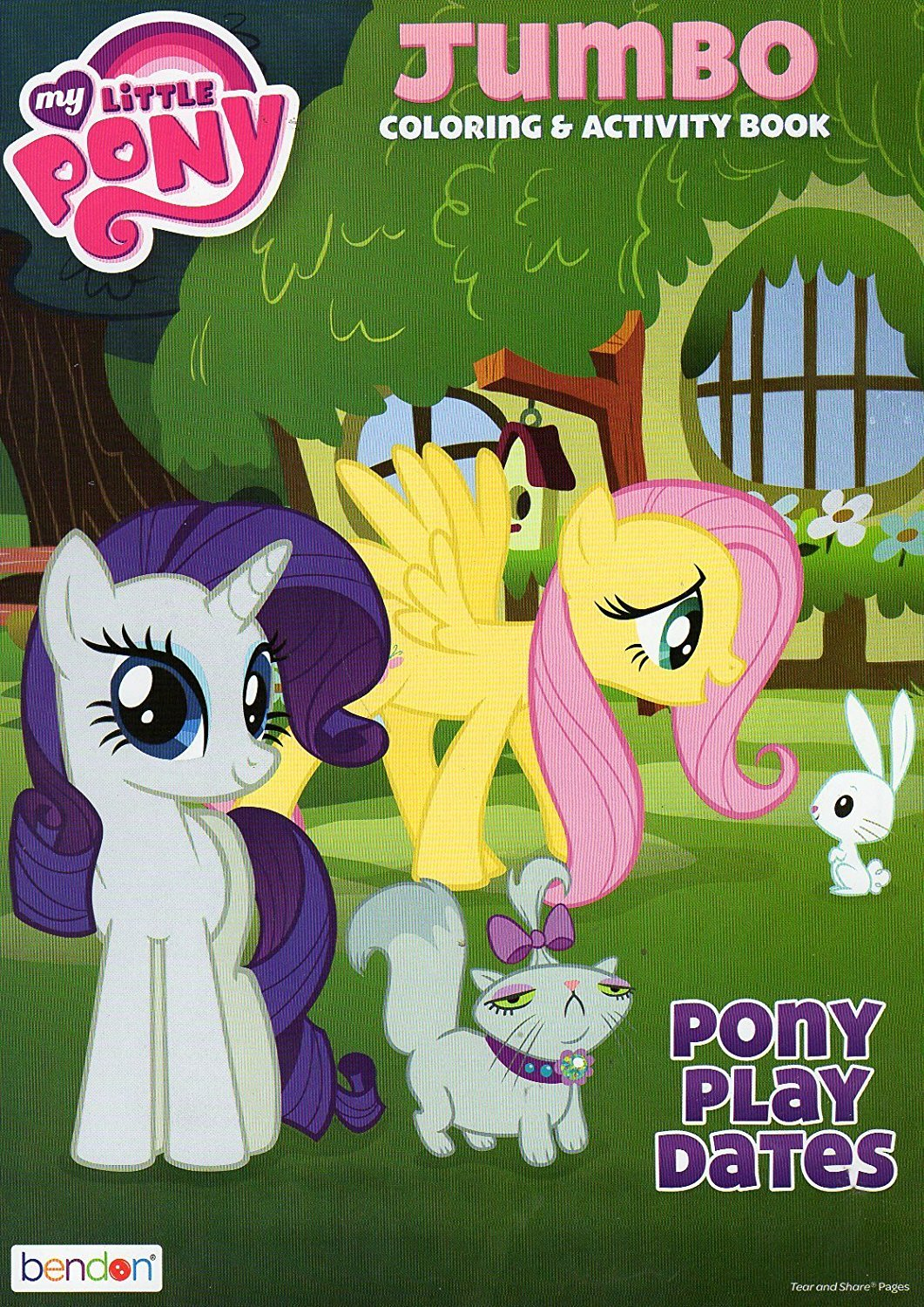 My Little Pony Coloring and Activity Book - Pony Play Dates - 96 Pages