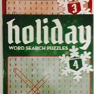 Bendon Holiday Word Search Puzzles Volumes # 3 & 4