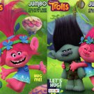 Dreamworks Trolls - Jumbo Coloring and Activity Book [Set of 2 Books] - v1