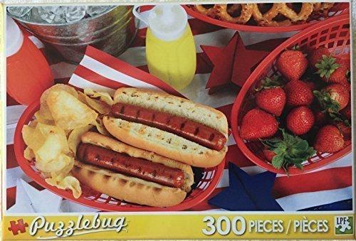 Puzzlebug 300 Piece Puzzle ~ Hotdog Picnic by Puzzlebug
