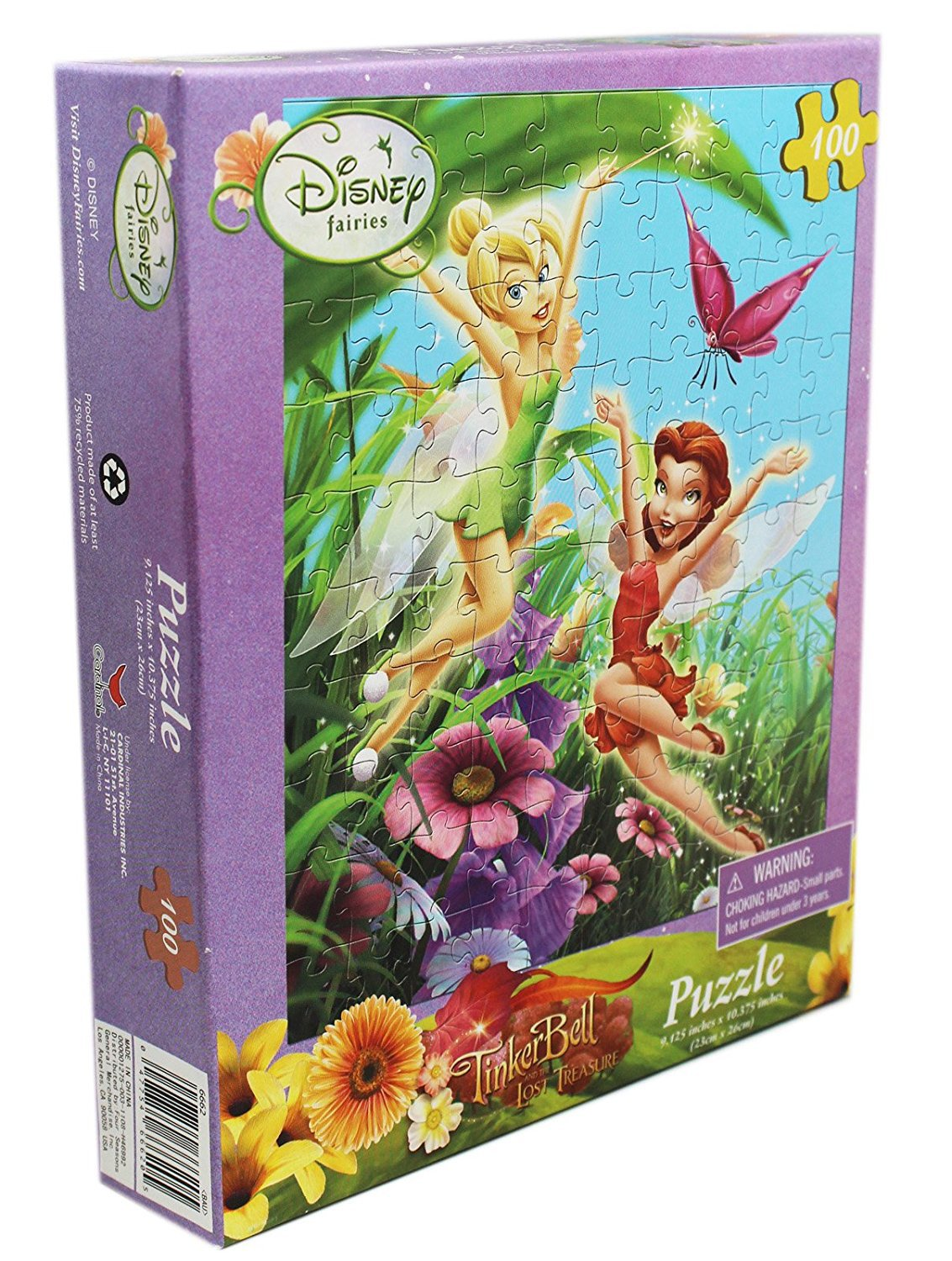 Disney's Tinker Bell and Rosetta 100 Piece Puzzle