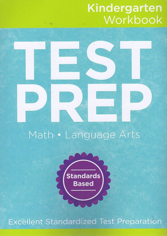 Standardized Math and Language Arts Test Preparation (Kindergarten) workbook