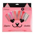 "Cherimoya Lip Gloss Buddies ""Kitty Glitter"" Gift Set"