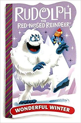 """Rudolph the Red Nosed Reindeer """"Wonderful Winter"""" Board book"""