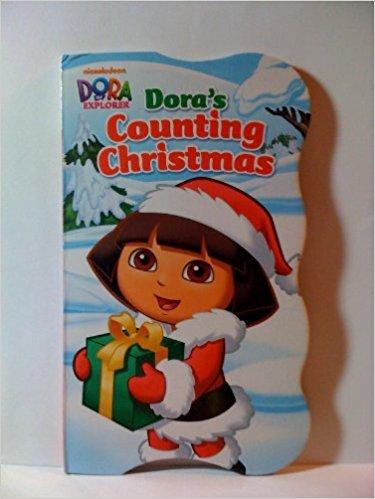 Nickelodeon Dora's Counting Christmas Board book