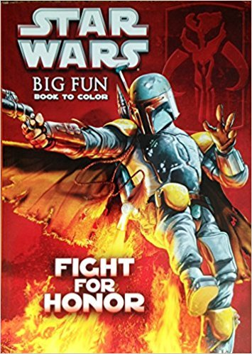 Star Wars Big Fun Book To Color (Fight for Honor)