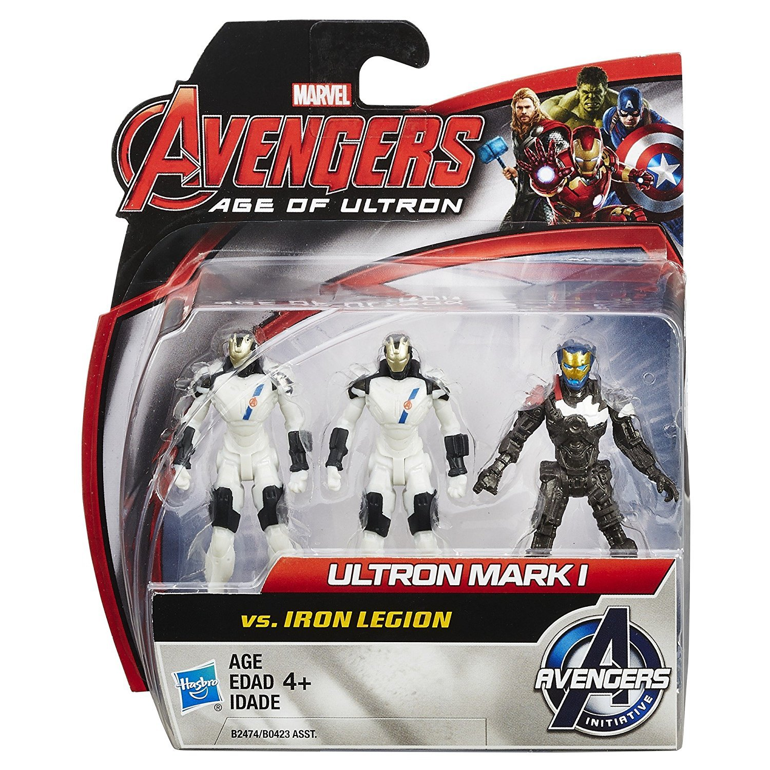 Marvel Avengers Age of Ultron Iron Legion vs. Ultron Mark 1